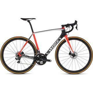 Specialized S-Works Tarmac Disc Di2 2016, carbon/red/white - Rennrad