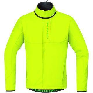 Gore Bike Wear Power Trail Windstopper SO Thermo Jacke, neon yellow - Radjacke