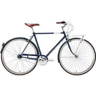 Creme Cycles Caferacer Man Solo 2017, deep blue - Cityrad