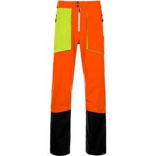 Ortovox 3L Merino Pants La Grave, crazy orange - Skihose