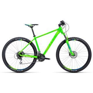 Cube Aim SL 29 2015, green/blue - Mountainbike