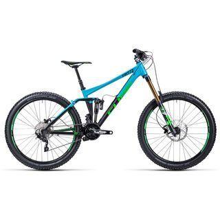 Cube Fritzz 180 HPA Race 27.5 2015, blue/black - Mountainbike
