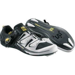 Mavic Galibier, white/black/yellow mavic - Rennrad Schuhe