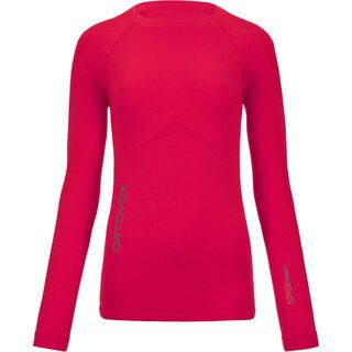 Ortovox Merino Competition Long Sleeve Women, very berry - Unterhemd