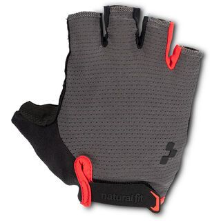 Cube Handschuhe Kurzfinger X Natural Fit grey´n´red