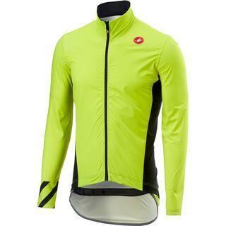 Castelli Pro Fit Light Rain Jacket, yellow fluo - Radjacke