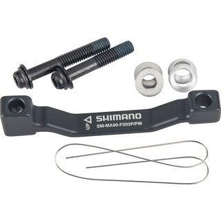Shimano XTR Scheibenbrems-Adapter - VR/HR 180 auf 203 mm