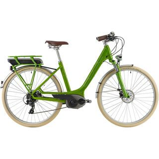 Cube Town Hybrid Easy Entry 2014, kiwi green/white - E-Bike