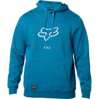 Fox Chapped Pullover Fleece, maui blue