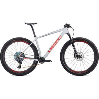 Specialized S-Works Epic HT AXS 2020, grey/red/crimson - Mountainbike