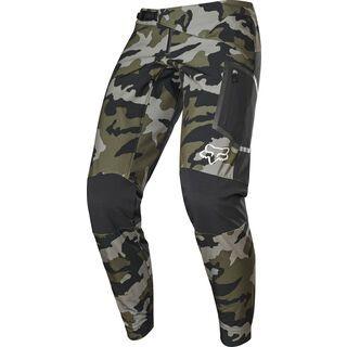 Fox Defend Fire Pant, green camo - Radhose