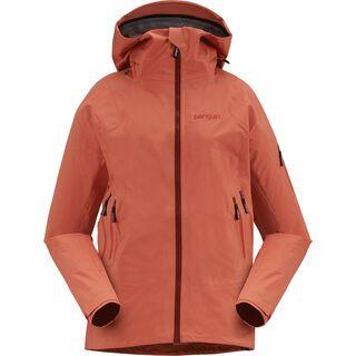 Penguin Frauen 3 Lagen Dermizax Shell Jacke, apricot red - Skijacke