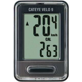 Cateye Velo 9 - Fahrradcomputer