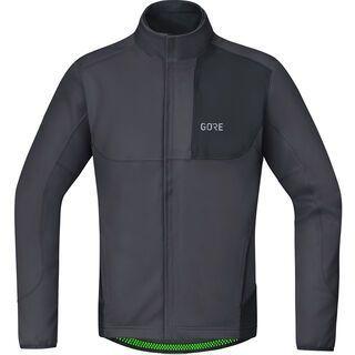 Gore Wear C5 Gore Windstopper Thermo Trail Jacke, terra grey/black - Radjacke