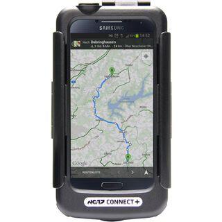 NC-17 Connect+ Galaxy S4 Case + Halterung und USB Ladekabel black
