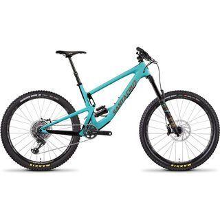 Santa Cruz Bronson CC X01 2019, blue/gold - Mountainbike