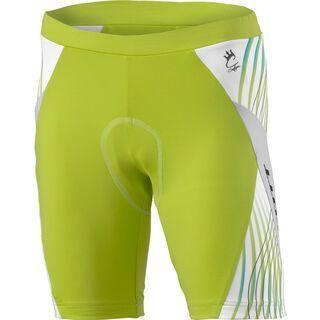 Scott Shorts Womens Shadow Race, lime green - Radhose