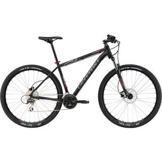 Cannondale Trail 27.5 6 2015, matte grey/red - Mountainbike