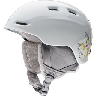 Smith Zoom Junior, white fairytale - Snowboardhelm