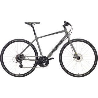 Kona Dew 700C 2018, gray/charcoal/yellow - Fitnessbike
