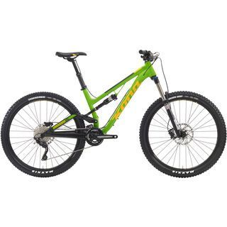 Kona Process 134 2016, green/yellow - Mountainbike