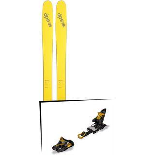 DPS Skis Set: Wailer 112 RP2 Pure3 2016 + Marker Kingpin 10