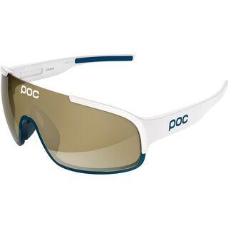 POC Crave, white/navy black/Lens: brown bronze mirror - Sportbrille