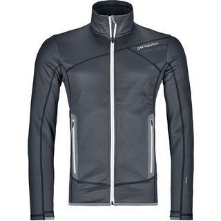 Ortovox Merino Fleece Jacket M, black steel - Fleecejacke