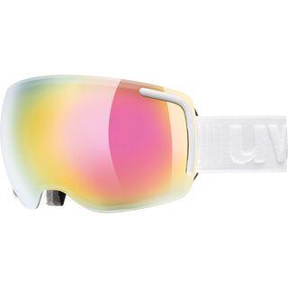 uvex big 40 FM, white mat/Lens: mirror pink - Skibrille