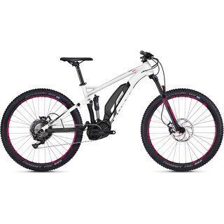 Ghost Hybride Lanao FS S3.7+ AL 2018, white/black/neon pink - E-Bike