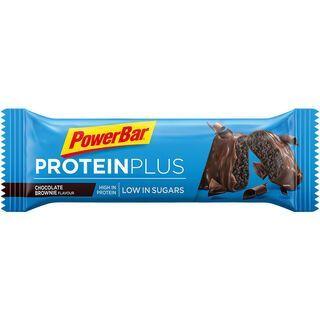 PowerBar Protein Plus Low Sugar - Chocolate Brownie - Proteinriegel
