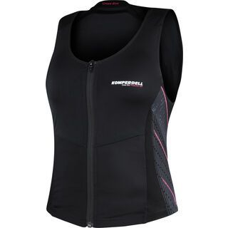 Komperdell Cross Eco Vest Women, schwarz-pink - Protektorenweste