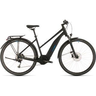 Cube Touring Hybrid ONE 400 Trapeze 2020, black´n´blue - E-Bike
