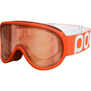 POC Retina, zink orange/Lens:  sonar orange - Skibrille
