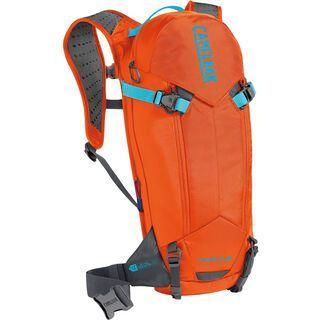 Camelbak T.O.R.O. Protector 8, red orange / charcoal - Fahrradrucksack