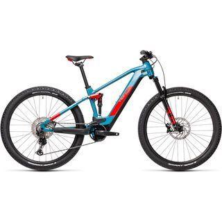 *** 2. Wahl *** Cube Stereo Hybrid 120 Race 625 29 2021, blue´n´red - E-Bike | Größe 18 Zoll