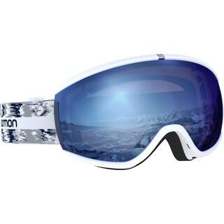 Salomon iVY Sigma, white/Lens: ml sky blue - Skibrille