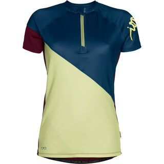 ION Tee Zip SS Venta, insignia blue - Radtrikot