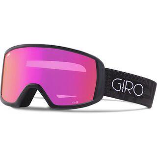 Giro Gaze, black pocket square/Lens: amber pink - Skibrille