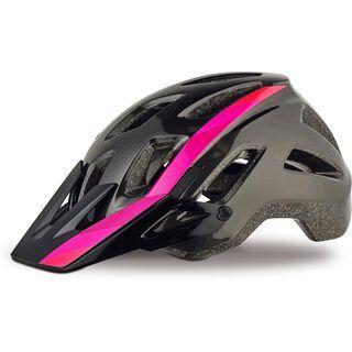 Specialized Ambush Comp, acid pink linear fade - Fahrradhelm
