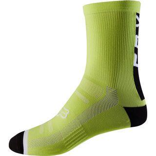 Fox 8 Trail Sock, yellow/black - Radsocken