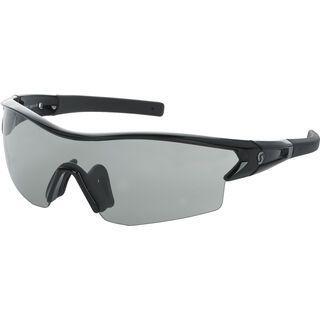 Scott Leap LS, black glossy/grey light sensitive - Sportbrille