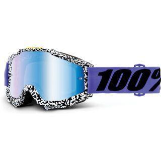 100% Accuri inkl. Wechselscheibe, brentwood/Lens: mirror blue - MX Brille