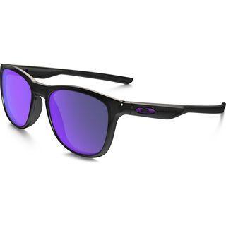 Oakley Trillbe X Polarized, matte black ink/Lens: violet iridium - Sonnenbrille