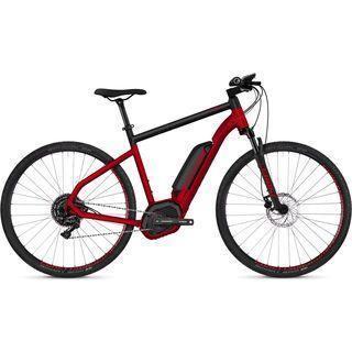 Ghost Hybride Square Cross B4.9 AL 2018, red/black - E-Bike
