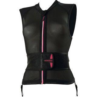 Icetools S-Lite Lady, black pink - Protektorenweste