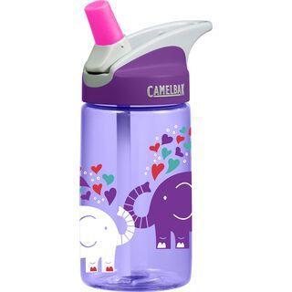Camelbak Eddy Kids 400ml, elephant love - Trinkflasche