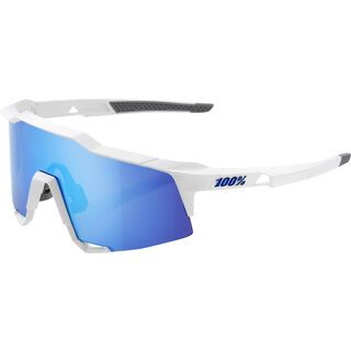 100% Speedcraft HiPER Blue ML Mir matte white
