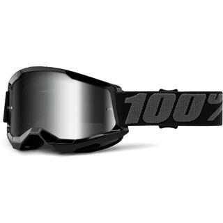 100% Strata, black/Lens: silver mirror - MX Brille