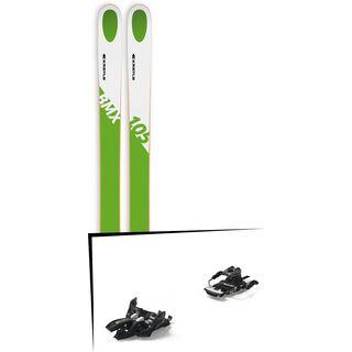Set: Kästle BMX105 2018 + Marker Alpinist 9 Long Travel black/titanium